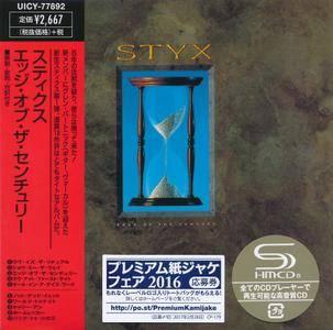 Styx - Edge Of The Century (1990) [2016, Universal Music Japan UICY-77892]