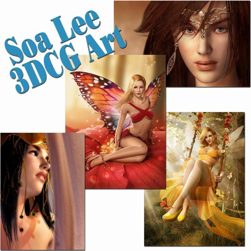 Soa Lee 3DCG Art