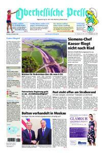 Oberhessische Presse Marburg/Ostkreis - 23. Oktober 2018