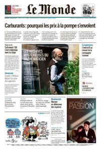 Le Monde du Mercredi 8 et Jeudi 9 Mai 2019