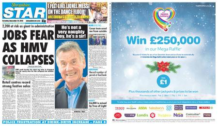 Shropshire Star Shrewsbury Edition – December 29, 2018