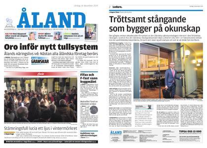 Ålandstidningen – 14 december 2019