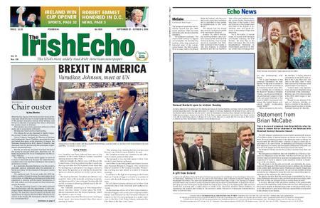 The Irish Echo – September 25, 2019