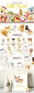 CreativeMarket - Dog creator + calendar