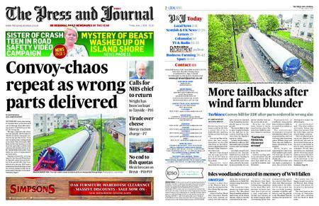 The Press and Journal Moray – June 01, 2018