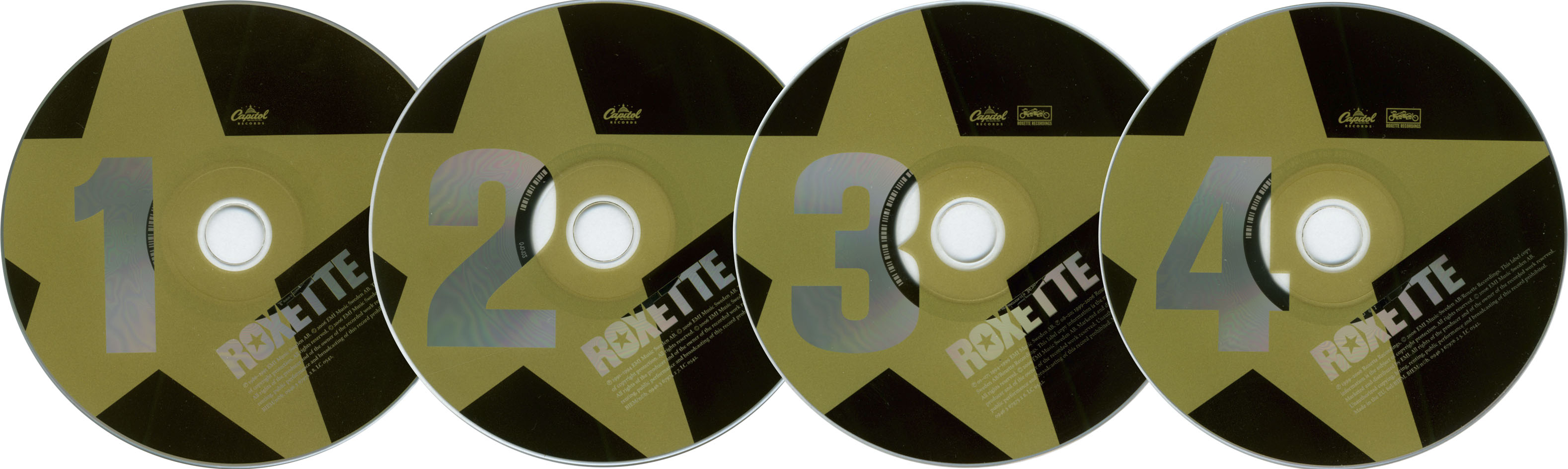 Roxette - The Rox Box: Roxette 86-06 (2006) 4 CD + 2 DVD Box Set