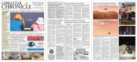 Gibraltar Chronicle – 19 February 2021