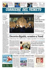 Corriere del Veneto Vicenza e Bassano – 08 dicembre 2018