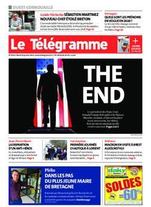 Le Télégramme Ouest Cornouaille – 19 janvier 2021