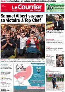 Le Courrier de l'Ouest Angers – 09 mai 2019