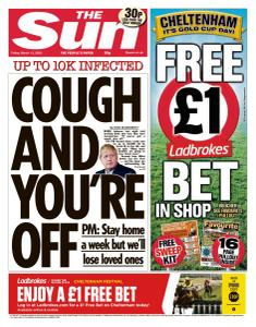 The Sun UK - 13 March 2020