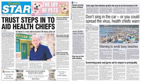 Shropshire Star Shrewsbury Edition – August 08, 2020