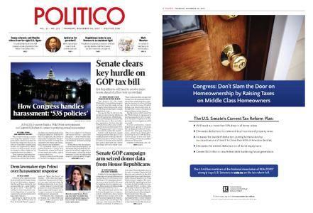 Politico – November 30, 2017