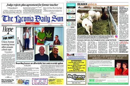 The Laconia Daily Sun – January 25, 2019