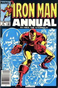 Iron Man Annual v1 006 Complete Marvel Collection