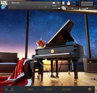 Wavesfactory Mercury Piano v1.0.2 KONTAKT UPDATE