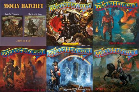 Molly Hatchet - 7 Studio Albums (1981-2010)