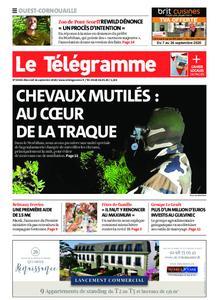 Le Télégramme Ouest Cornouaille – 16 septembre 2020