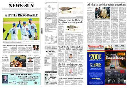 Lake County News-Sun – October 10, 2017