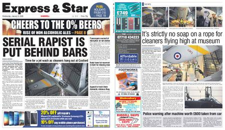 Express and Star Sandwell Edition – January 08, 2020