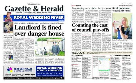 Gazette & Herald – May 17, 2018