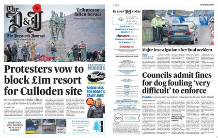 The Press and Journal Moray – November 11, 2019