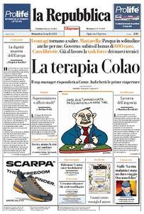 la Repubblica - 12 Aprile 2020