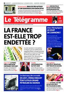 Le Télégramme Brest Abers Iroise – 26 juillet 2021