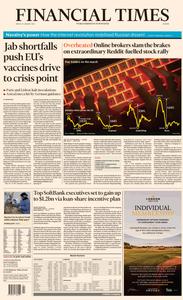 Financial Times Europe - January 29, 2021