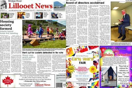 Bridge River Lillooet News – May 15, 2019