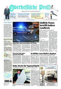 Oberhessische Presse Marburg/Ostkreis - 13. Oktober 2017