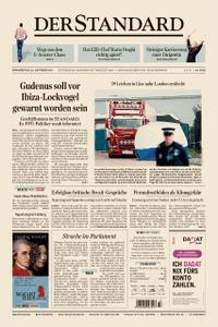 Der Standard – 24. Oktober 2019