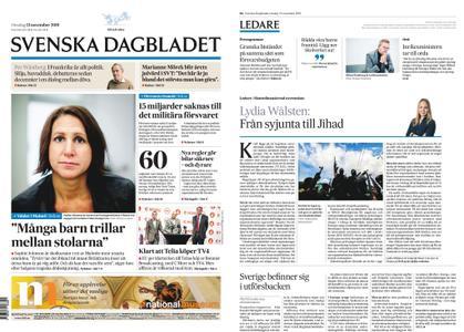 Svenska Dagbladet – 13 november 2019