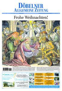 Döbelner Allgemeine Zeitung – 24. Dezember 2019