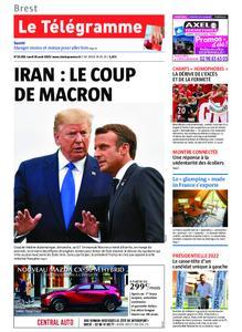 Le Télégramme Brest – 26 août 2019