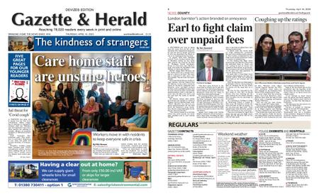 Gazette & Herald – April 16, 2020