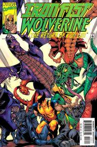 Iron Fist  Wolverine 03 of 04 2000 Meganubis