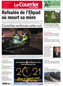 Le Courrier de l'Ouest Angers – 31 décembre 2020