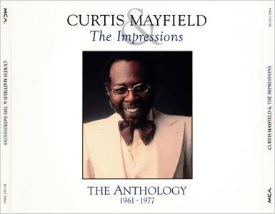 Curtis Mayfield & The Impressions - The Anthology 1961-1977 (1992) 2CDs