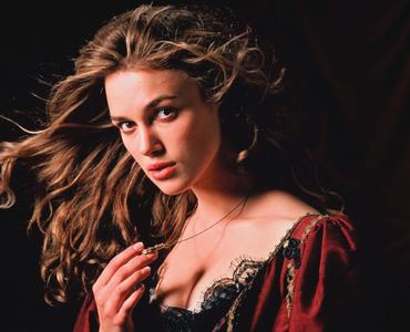 Keira Knightley - 'Pirates of the Caribbean: Curse of the Black Pearl' Promos 2003