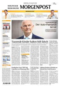 Solinger Morgenpost – 27. August 2019