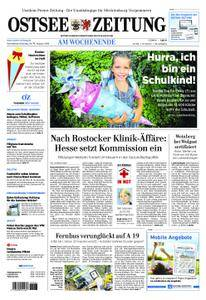 Ostsee Zeitung Wolgast - 18. August 2018