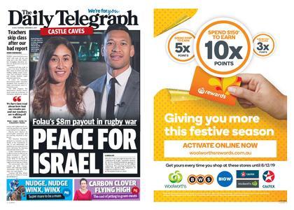 The Daily Telegraph (Sydney) – December 05, 2019