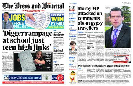 The Press and Journal Moray – August 25, 2017