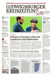 Ludwigsburger Kreiszeitung LKZ - 30 Juni 2021