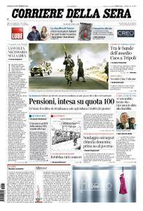 Corriere della Sera – 22 settembre 2018