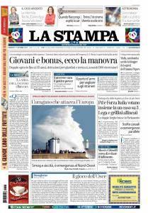 La Stampa Torino Provincia e Canavese - 17 Ottobre 2017