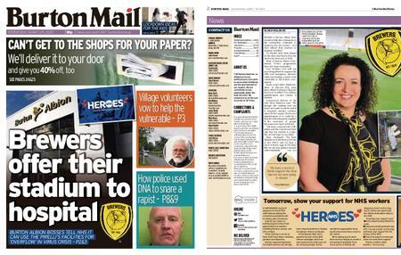 Burton Mail – March 25, 2020