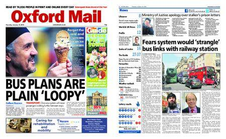 Oxford Mail – January 18, 2018