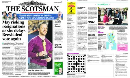 The Scotsman – February 25, 2019